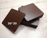 Подложка под торт квадратная цвет Венге 30*30