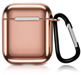 Кейс TOTO Electroplate TPU Cover Case AirPods Gold 101770, КОД: 1309825