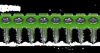 Саморезы для гипсокартона на ленте, мет., 3,5х25, оцинк., PH2, упак. 1000 шт, Швеция