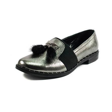 Туфли женские AmeLi AL105 серебрянная кожа (36), фото 2