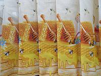 Ткань Для Скатертей Рогожка На Пасеке, фото 1