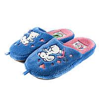 Тапочки комнатные детские Home Story 91850-AC голубые (30)
