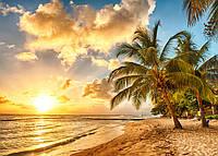 Фотообои флизелиновые 3D природа 400x280 см Морской пляж (0042XXX)