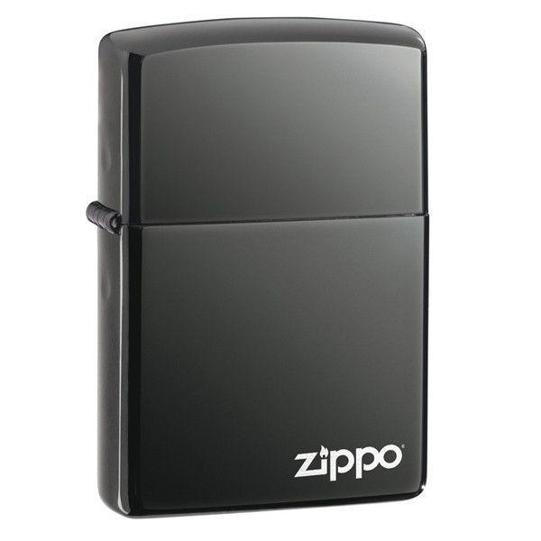 Запальничка Zippo 150ZL Black Ice with Zippo logo Laser