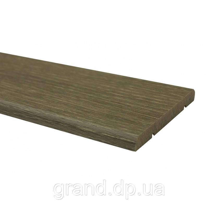 Наличник прямоугольный/полукруглый  экошпон Новый Стиль 70мм*2200мм