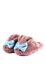 Тапочки комнатные детские Home Story 91259-EC розовые (25)