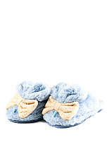 Тапочки комнатные детские Home Story 91259-EC голубые (27)