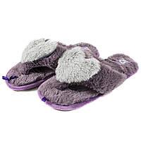 Тапочки комнатные женские Home Story 91039-LO фиолетовые (36)