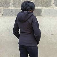 Толстовка женская флисовая BLACK, фото 5