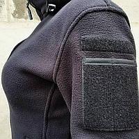Толстовка женская флисовая BLACK, фото 9
