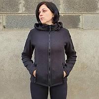 Толстовка женская флисовая BLACK, фото 4