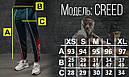 Спортивные штаны мужские темно-зеленые с принтом Иероглиф от бренда ТУР модель Крид (Creed) размер XS,S,M,L,XL, фото 4