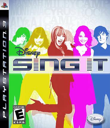 Игра для игровой консоли PlayStation 3, Sing It (БУ), фото 2