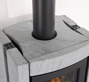 Печь-камин La Nordica Ester con Forno Evo с духовым шкафом, фото 2