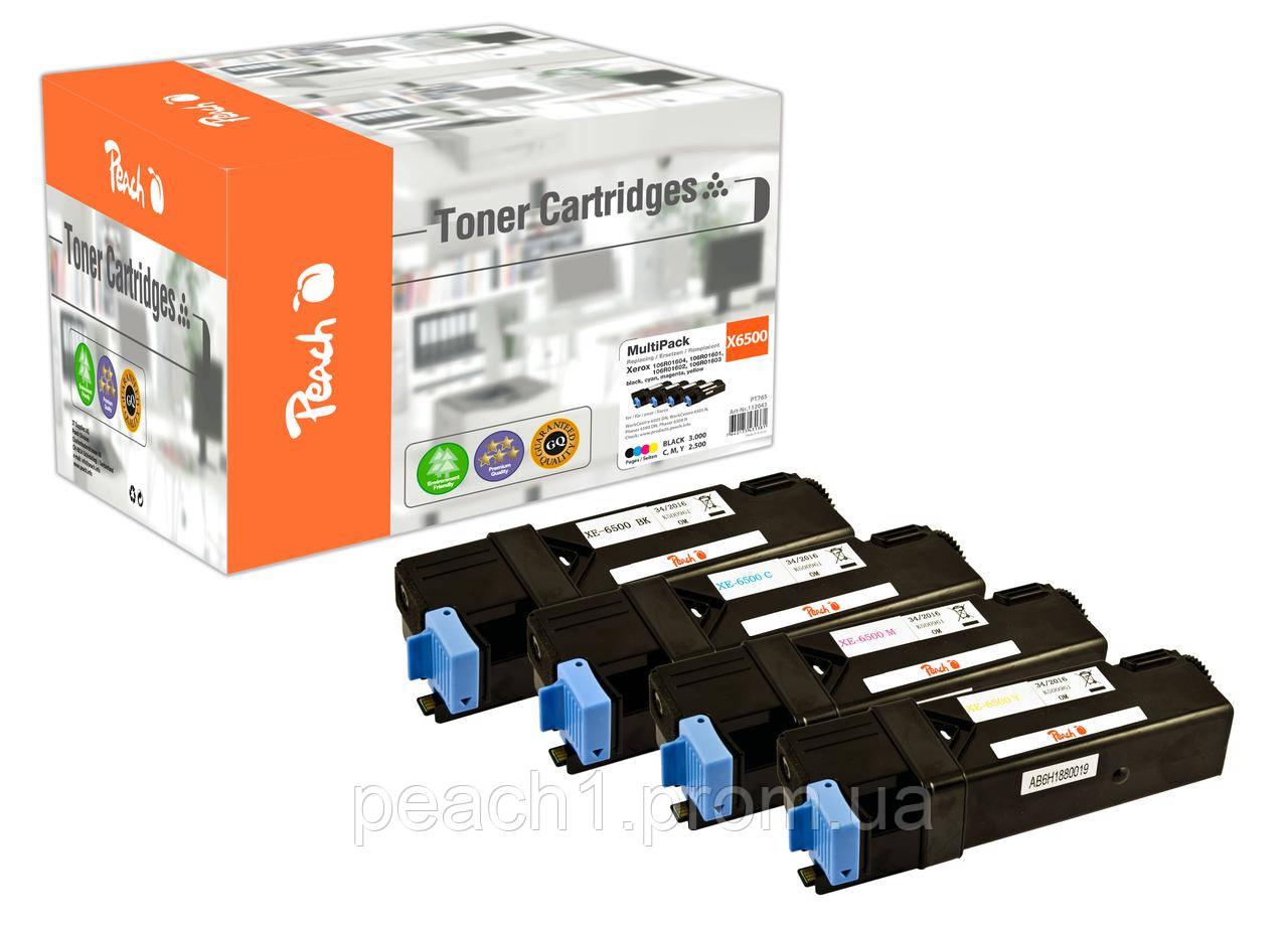 Набор лазерных картриджей (bk, c, m, y) Xerox 106R0160 series MultiPack