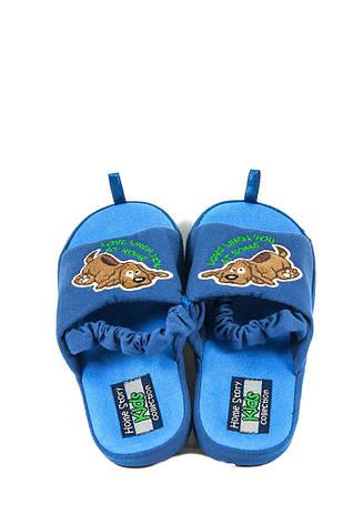 +, + 27119802, + 27119802, + 3221206, +  , +  , + Вид обуви Тапочки, + Синий, + Текстиль, + Весна\осень, фото 2