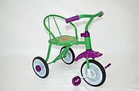 Трехколесный велосипед зеленый, фото 1