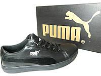 Кожаные мужские кроссовки Puma ч