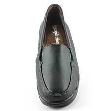 Мокасины женские  Zoja's shoes 75211-1 черная кожа (37), фото 3