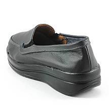 Мокасины женские  Zoja's shoes 75211-1 черная кожа (37), фото 2