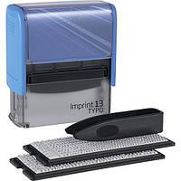 Текстовый штамп самонаборной прямоугольный 5-ти строчный Trodat 8953 Imprint 13 синий