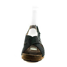 Босоножки женские летние Allshoes 6232 черные (37), фото 3
