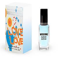 Женский мини парфюм Moschino I Love Love 50 мл