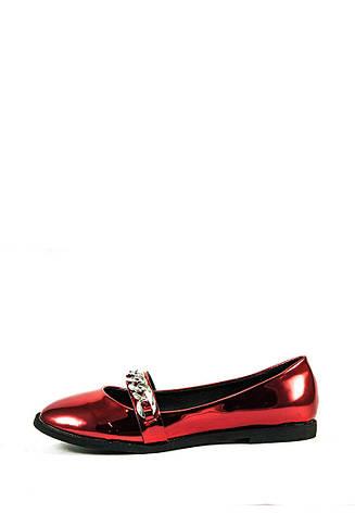 Балетки женские Elmira 606-1 красные (36), фото 2