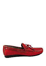 Мокасины мужские TiBet 523-06 красные (43), фото 2