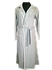 Женский халат, трикотаж  MARILYN CLUB серый, Турция, фото 2