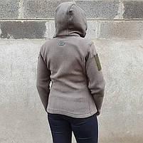 Толстовка женская флисовая OLIVE, фото 3