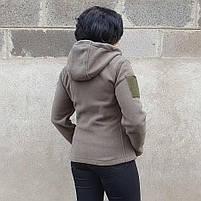 Толстовка женская флисовая OLIVE, фото 5