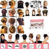 Набір заколок Hairagami ( шпильки для волосся Хэагами), фото 2