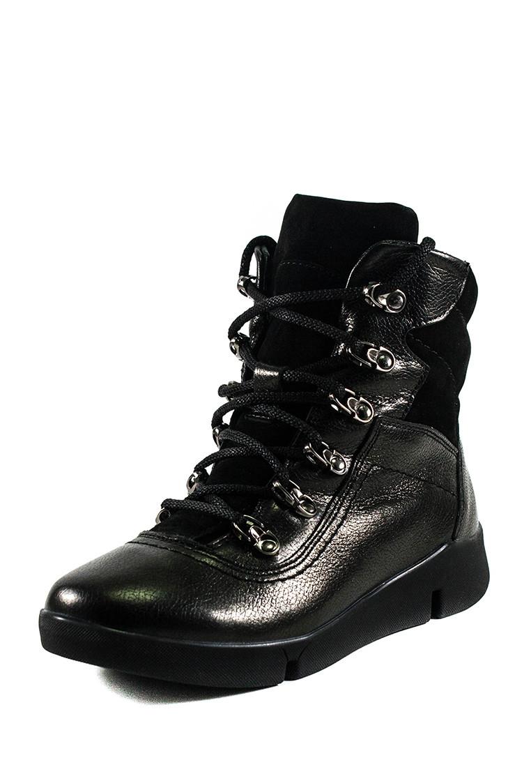 Ботинки зимние подросток MIDA 34181-16Ш черные (36)