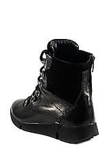 Черевики зимові підліткові MIDA чорний 18700 (36), фото 2