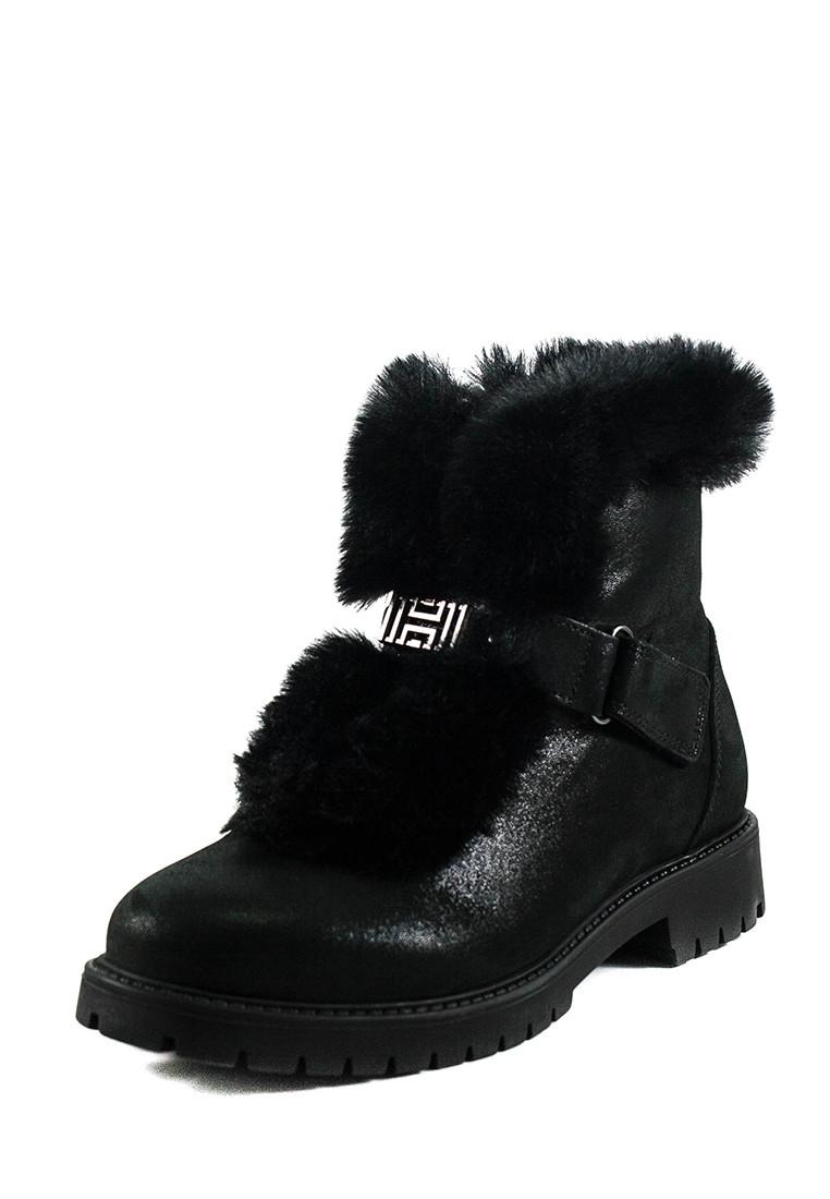 Ботинки зимние подросток MIDA 34163-392Ш черные (37)