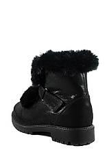 Ботинки зимние подросток MIDA 34163-392Ш черные (37), фото 2