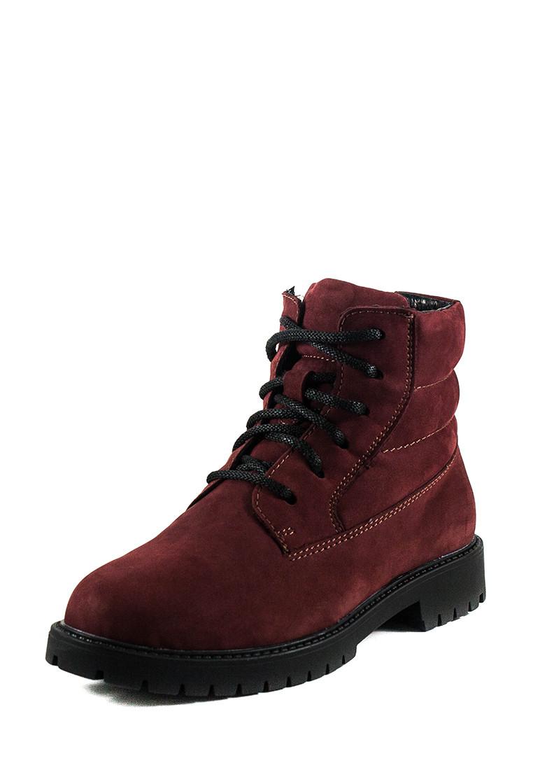 Ботинки зимние подросток MIDA 34122-430Ш бордовые (36)