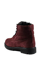 Ботинки зимние подросток MIDA 34122-430Ш бордовые (36), фото 2