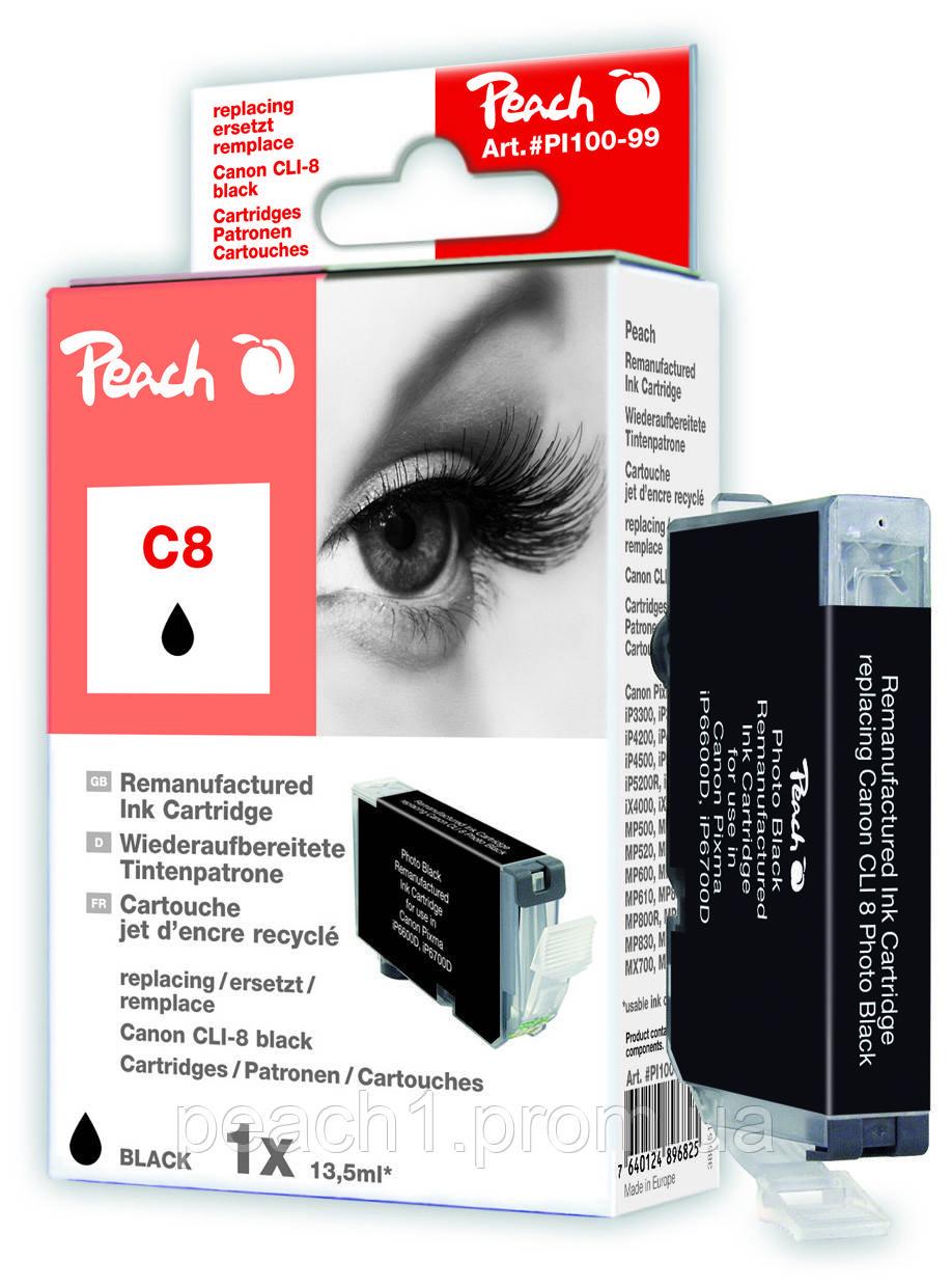 Картридж струйный, черный (Black ), Canon CLI 8, 0620B001 с оригинальным чипом.