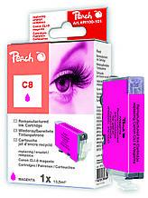 Картридж струйный, розовый (Пурпурный/Magenta) Canon CLI 8, 0622B001 с оригинальным чипом.
