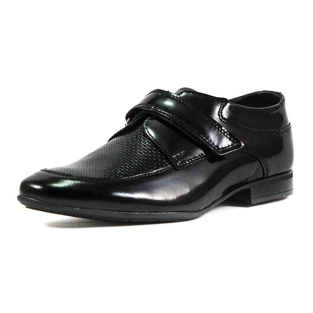 Туфли подростковые MIDA 31182-134 черная кожа (38)