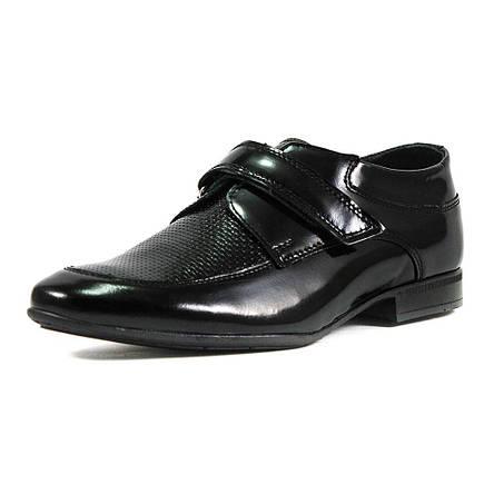 Туфли подростковые MIDA 31182-134 черная кожа (38), фото 2
