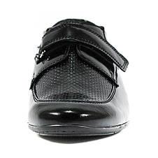 Туфли подростковые MIDA 31182-134 черная кожа (38), фото 3