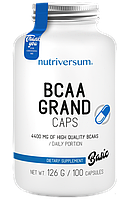 Амінокислоти Nutriversum - BCAA Grand Caps (100 капсул)