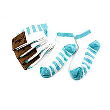 Шкарпетки жіночі Рубіж-Текс 2с136 м'ята смуг.стоп (35-40)