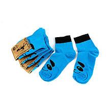Шкарпетки жіночі Рубіж-Текс 2с116 бирюз.панда 35-40