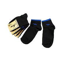 Шкарпетки жіночі Рубіж-Текс 2c101k чорно-синій 35-40