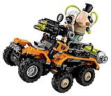 Конструктор DECOOL 7130 Химическая атака Бейна. Аналог Lego technic. Развивающие игрушки., фото 3