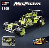 Конструктор Гоночный болид DECOOL MecFactor 3805, фото 3